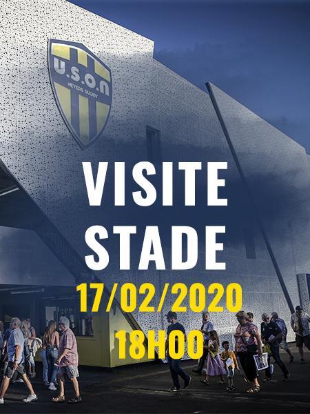 VISITE STADE - Lundi 17 Février - 18h00